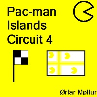 Pac-man Islands Circuit 4