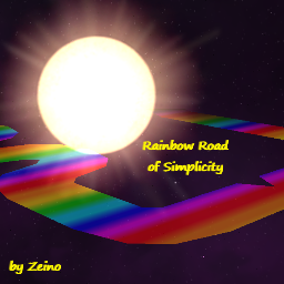 Rainbow Road of Simplicity