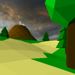 Lowpoly Path